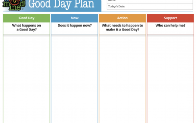 Good Day Plan Template
